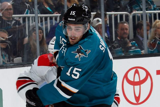 Sharks Getting Big Boost on Offense from James Sheppard