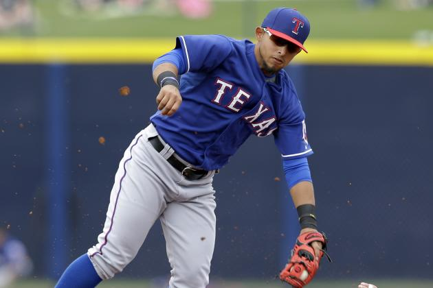 Top-shelf prospect Odor among Texas Rangers cuts
