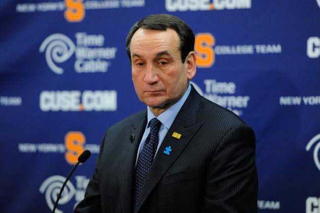 Mike Krzyzewski Leads List of Top College Basketball Head Coach Salaries