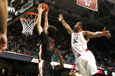 ACC 2ND ROUND: Bojanovsky Dunk Ends Terps' ACC Run