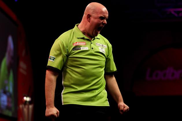 Premier League Darts 2014 Results: Scores, Standings, Analysis from Nottingham