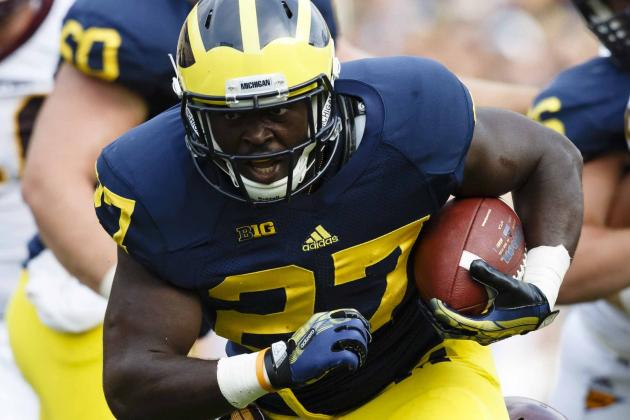 Derrick Green's Weight Loss Good News for Michigan, Bad News for His Opponents