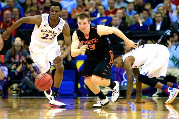 Oklahoma State vs. Kansas: Live Score, Updates for 2014 Big 12 Tournament Game