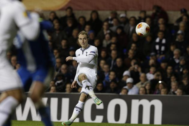Analysing Christian Eriksen's Performance from Tottenham vs. Benfica