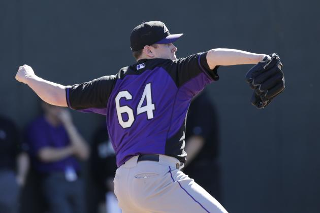 Rockies Option LHP Tyler Matzek, INF Rosell Herrera and 3 Others to Minors