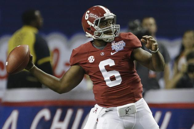 Alabama Football: Previewing the 2014 Spring Practice QB Battle