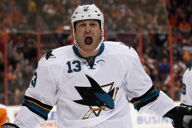 Sharks' Raffi Torres Likely to Miss Columbus Game