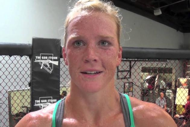Holly Holm, Management Team to Meet with Dana White This Week in Dallas