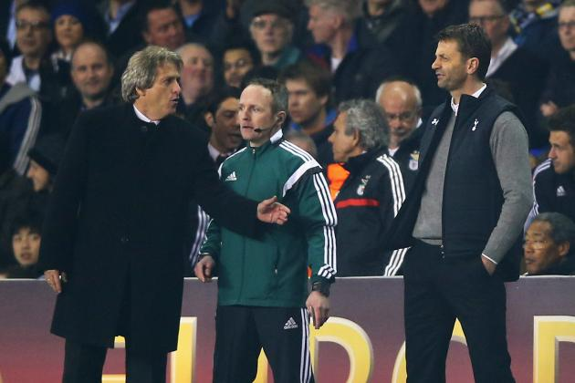 Tim Sherwood's Spurs Tenure Beyond Salvation After Shouting Match with Jesus