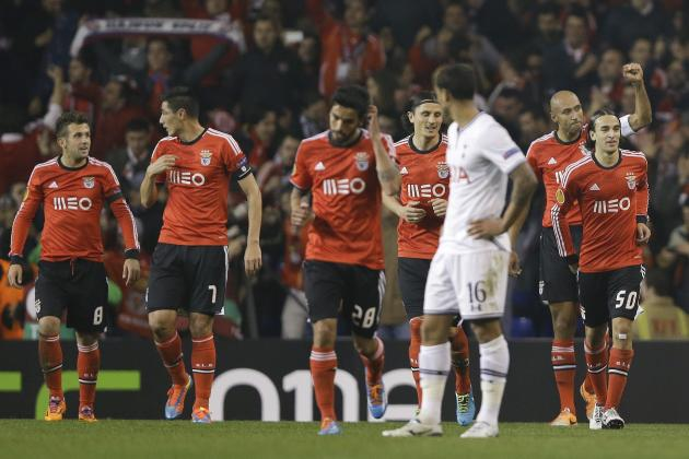 Film Focus: Reviewing Tottenham Hotspur vs. Benfica: A Night to Forget for Spurs