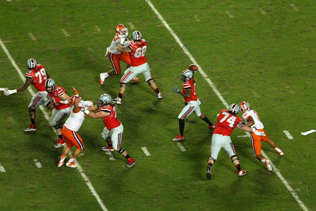 Ohio State's Season, Braxton Miller's Heisman Hopes Riding on Young O-Line