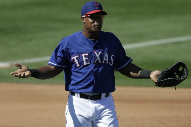 Beltre Left Tonight's Game with Quad Tightness