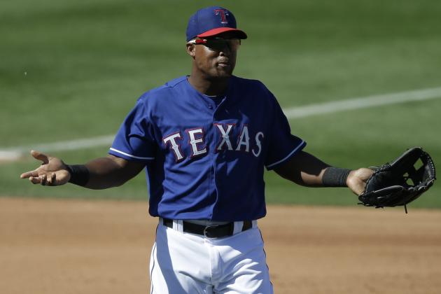 Adrian Beltre Leaves Game with Tightness in Left Quadriceps