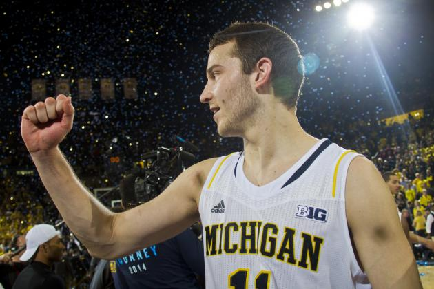 Dominant Big Ten Tourney Would Cement Nik Stauskas as NBA Draft Lottery Pick