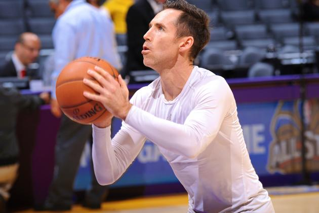Steve Nash Says He Won't Retire Because He Wants the Money