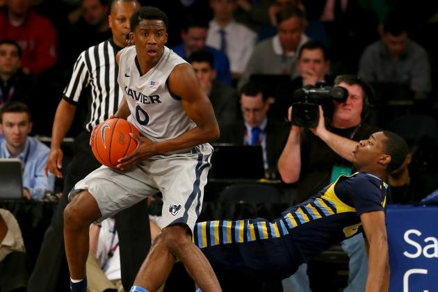 Xavier Beats Marquette 68-65 to Reach Semis