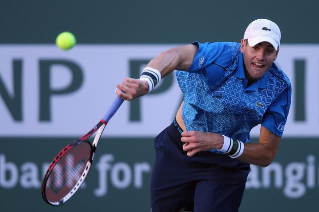 Indian Wells 2014: Big Servers Outgun Top ATP Seeds to Reach Final Rounds