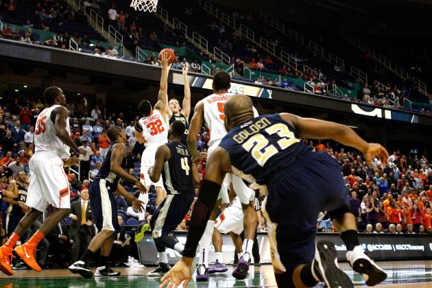 Clemson Tops Ga Tech 69-65 in OT at ACC Tourney