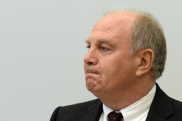 Uli Hoeness Steps Down as Bayern Munich President, Accepts Prison Sentence