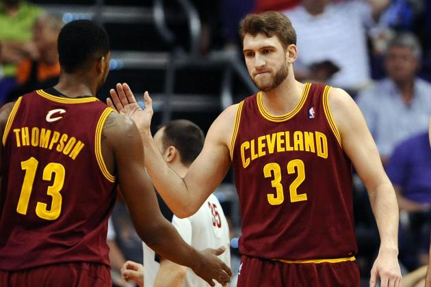 Grading Spencer Hawes' Early Performance with Cleveland Cavaliers
