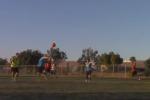 Kickball Triple Play Wins the Day