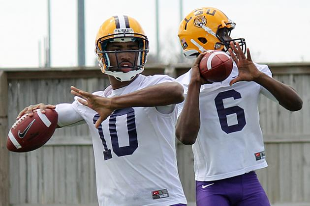LSU Football: Week 1 Spring Practice Stock Report