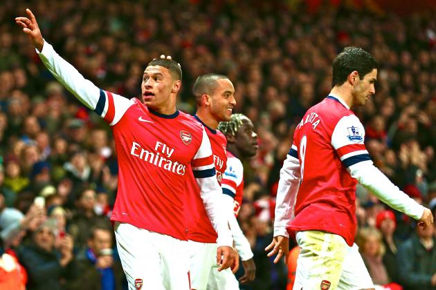 Oxlade-Chamberlain the Derby Matchwinner? Tottenham V Arsenal Midfield Matchup