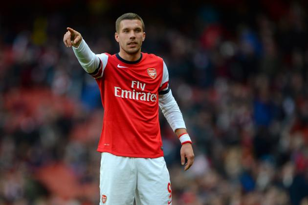 Can Lukas Podolski Help Arsenal in Their Push for the Premiership Title?