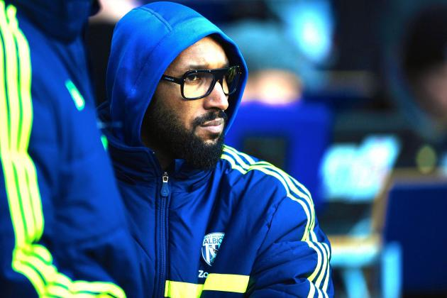 Nicolas Anelka Terminates His Contract with West Bromwich Albion