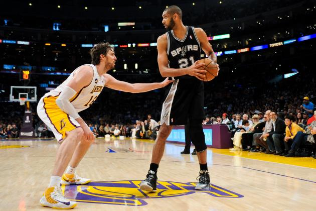 Los Angeles Lakers vs. San Antonio Spurs: Live Score and Analysis
