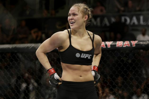 Ronda Rousey: A Fight with Gina Carano Would Be a 'Milestone' for MMA