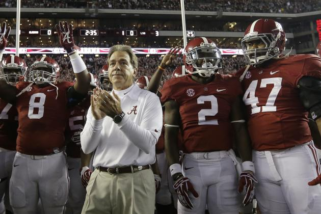 Alabama Football: Ranking the Hardest Games of the 2014 Schedule