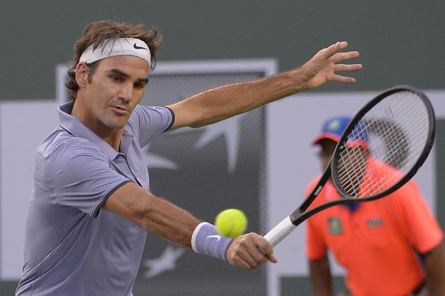 Roger Federer's Dominance at Indian Wells Solidifies Him as Man to Beat