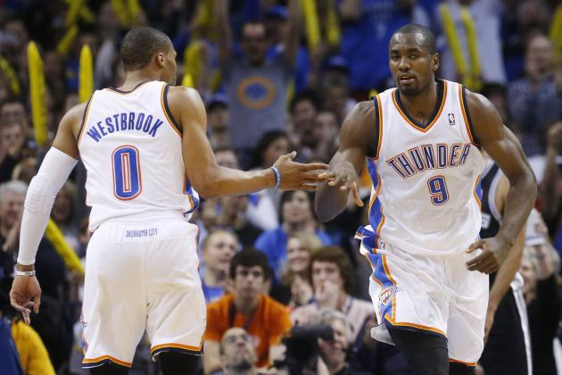 Is Serge Ibaka More Crucial to OKC Thunder's Title Hopes Than Russell Westbrook?