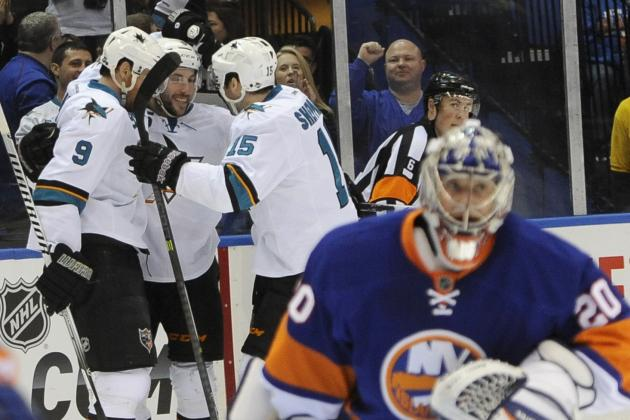 Video: Sharks Thread the Needle Four Times Before Scoring