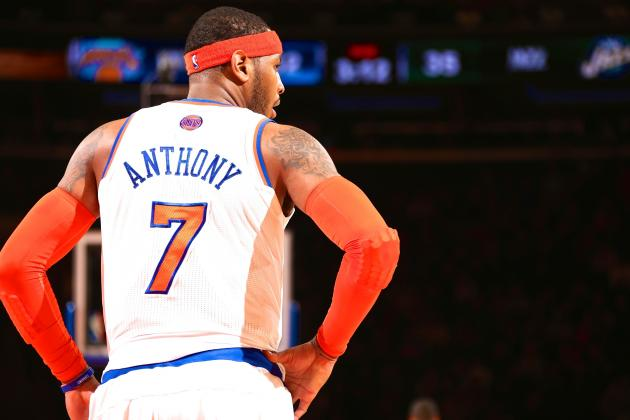 How Phil Jackson to New York Knicks Impacts Carmelo Anthony's Future