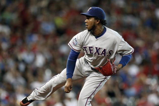 Neftali Feliz Feeling Comfortable in Race to Be Rangers' Closer