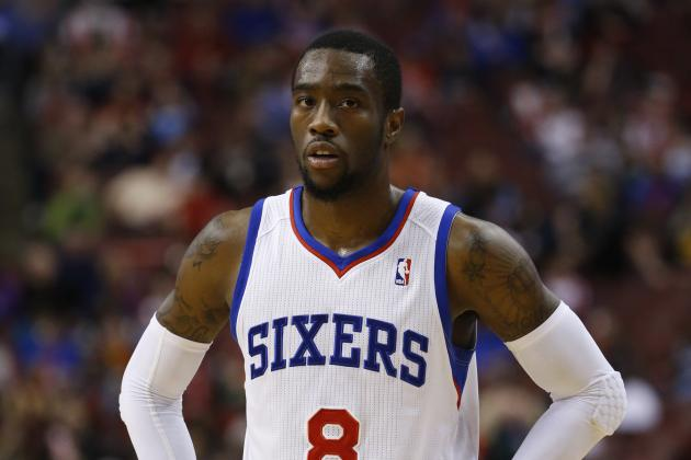 Sixers' Tony Wroten Loses Half a Shoe Against Indiana
