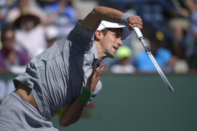 Breaking Down the BNP Paribas Open Semifinal Matchups