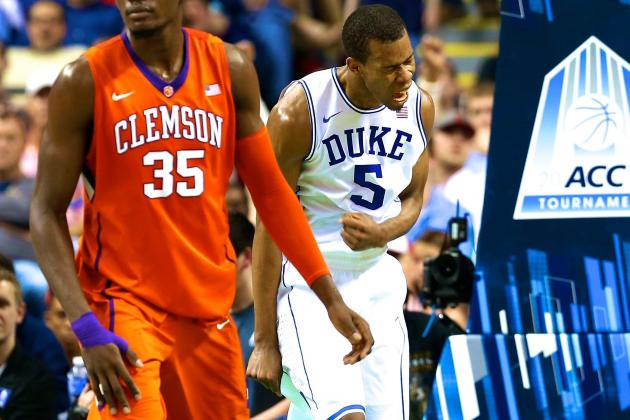 Clemson vs Duke: Live Score, Updates and Analysis for 2014 ACC Tournament Game