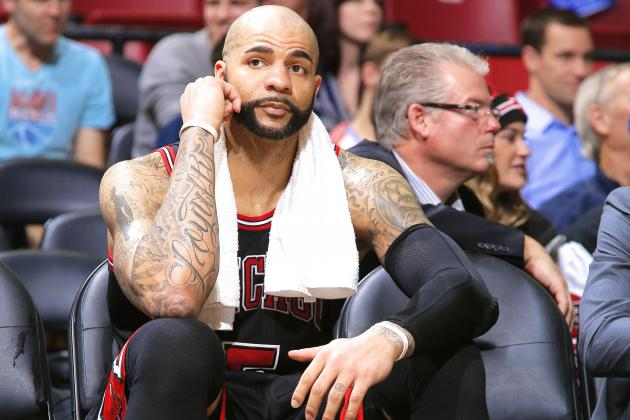 Carlos Boozer Reportedly Feels He's 'Being Pushed Out' of Chicago