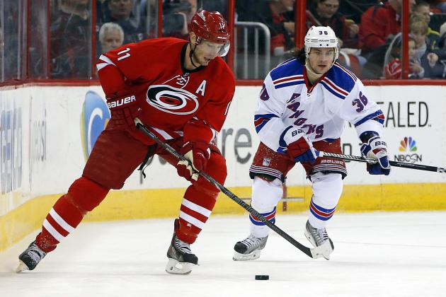 Jordan Staal Enjoying Best Streak Since Joining Carolina Hurricanes