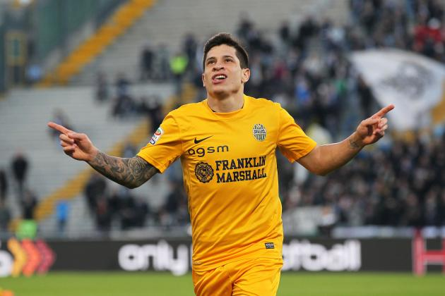 Liverpool Transfers: Scouting Report on Mooted Reds Target Juan Manuel Iturbe