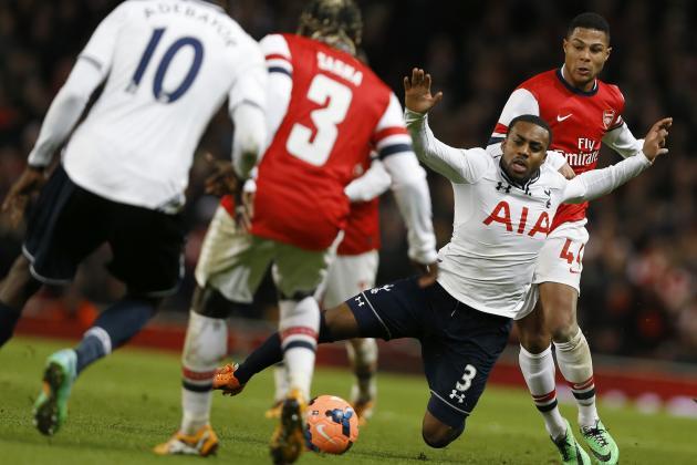 Tottenham Hotspur vs. Arsenal: Live Player Ratings