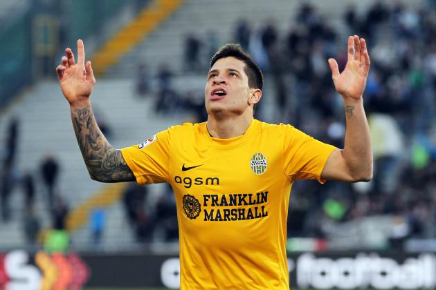 Liverpool Transfer News: Juan Iturbe a Superior Option to Yevhen Konoplyanka