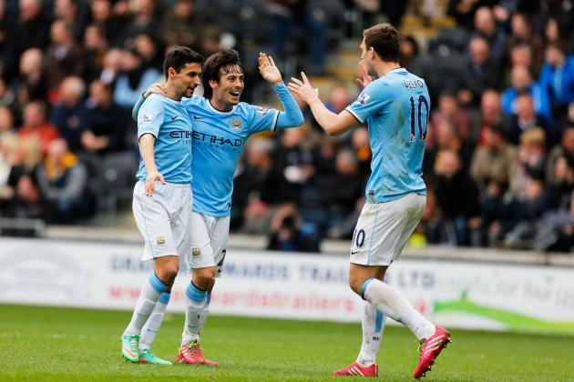 Analysing David Silva's Performance vs. Hull City