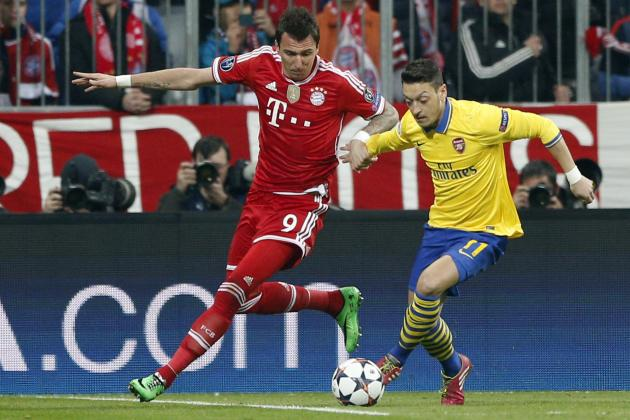 Arsenal Transfer Rumours: Mario Mandzukic Should Be Gunners' Top Priority