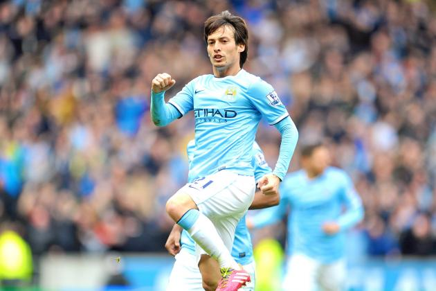 David Silva Shines as Demichelis and Garcia Defend Manchester City's Hopes