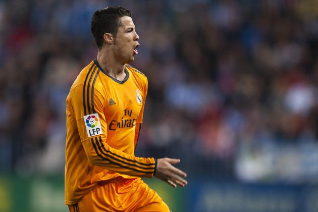 GIF: Cristiano Ronaldo Opens the Scoring for Real Madrid at Malaga