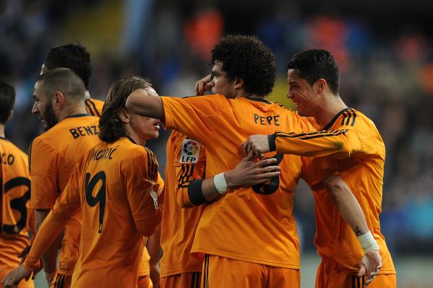 Malaga vs. Real Madrid: Live Player Ratings for Los Blancos